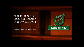 The Onion Book of Known Knowledge TV Spot - Thumbnail 6