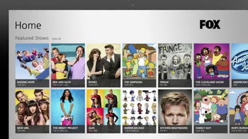 FOX Windows 8 App TV Spot