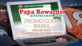 Papa John's Papa Rewards TV Spot, 'Sunday Night' Featuring Peyton Manning - Thumbnail 6