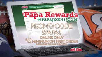 Papa John's Papa Rewards TV Spot, 'Sunday Night' Featuring Peyton Manning - Thumbnail 7