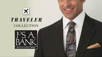 JoS. A. Bank Traveler Collection TV Spot  - 10 commercial airings