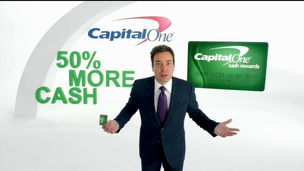 Capital One TV Commercial 'Impressions' Featuring Jimmy Fallon