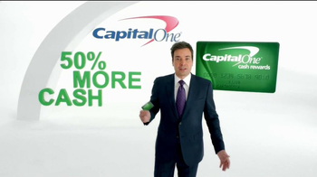 Capital One TV Spot 'Impressions' Featuring Jimmy Fallon - Thumbnail 2