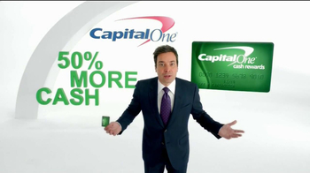 Capital One TV Spot 'Impressions' Featuring Jimmy Fallon