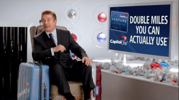 Capital One TV Spot, 'Naughty List' Featuring Alec Baldwin