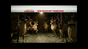 Arthur Christmas Blu-Ray and DVD TV Spot