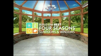 Four Seasons Sunrooms TV Spot, \'33% Off\'