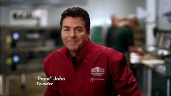 Papa John's TV Spot, 'Better' - Thumbnail 2