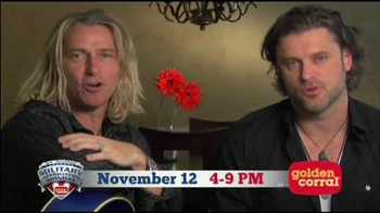 Golden Corral TV Spot, 'Military Appreciation' Featuring Collective Soul - Thumbnail 10
