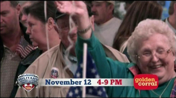 Golden Corral TV Spot, 'Military Appreciation' Featuring Collective Soul - Thumbnail 6