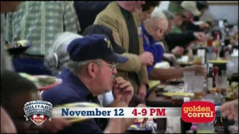 Golden Corral TV Spot, 'Military Appreciation' Featuring Collective Soul - Thumbnail 7