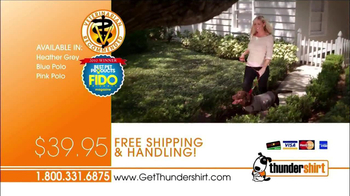 Thunder Shirt TV Spot, 'Happy' - Thumbnail 10