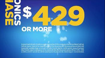 Walmart Credit Card Special Financing TV Spot  - Thumbnail 10