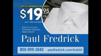 Paul Fredrick TV Spot 'Dress Shirts' - Thumbnail 9