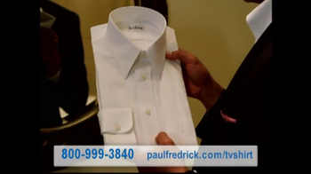 Paul Fredrick TV Spot 'Dress Shirts' - Thumbnail 3