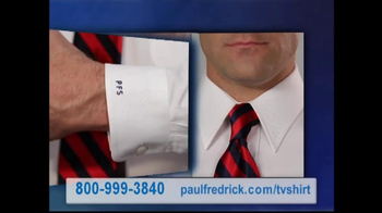 Paul Fredrick TV Spot 'Dress Shirts'