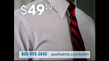 Paul Fredrick TV Spot 'Dress Shirts' - Thumbnail 7