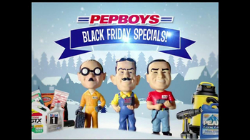 PepBoys Black Friday Deals TV Spot, 'Motor Oil'