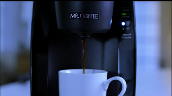 Mr. Coffee Single Cup Brewing System TV Spot