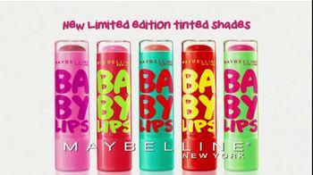 Maybelline New York Baby Lips TV Spot
