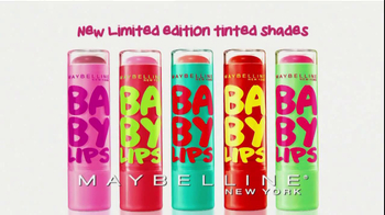 Maybelline New York Baby Lips TV Spot  - 2378 commercial airings