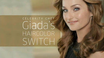 Clairol TV Spot, 'Color Switch' Featuring Giada De Laurentiis - 1577 commercial airings