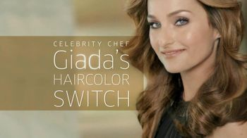 Clairol TV Spot, \'Color Switch\' Featuring Giada De Laurentiis
