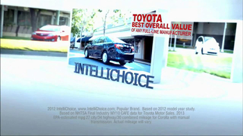 2013 Toyota Corolla TV Spot, 'People Who Know Cars' - Thumbnail 1
