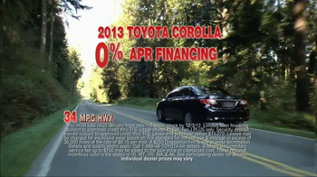 2013 Toyota Corolla TV Spot, 'People Who Know Cars' - Thumbnail 5