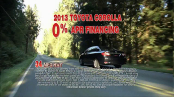 2013 Toyota Corolla TV Spot, 'People Who Know Cars' - Thumbnail 6