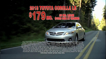2013 Toyota Corolla TV Spot, 'People Who Know Cars' - Thumbnail 7