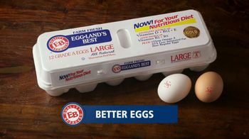 Eggland's Best TV Spot, 'More Vitamins Less Saturated Fat' - 567 commercial airings