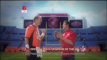 Papa John's TV Spot, 'Good in Orange' Featuring Peyton Manning - Thumbnail 1