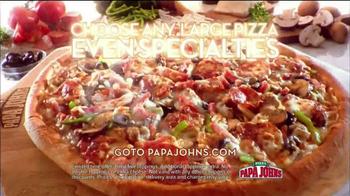 Papa John's TV Spot, 'Good in Orange' Featuring Peyton Manning - Thumbnail 9