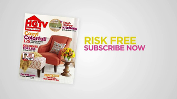 HGTV Magazine TV Spot, 'Risk-Free Offer' - Thumbnail 7