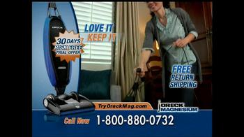 Oreck Magnesium TV Spot