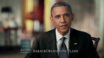 Obama for America TV Spot, 'Plan for Amercia' - 204 commercial airings