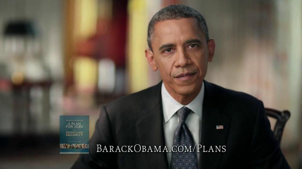 Obama for America TV Commercial, 'Plan for Amercia'