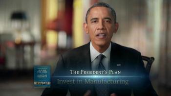 Obama for America TV Spot, 'Plan for Amercia' - Thumbnail 4