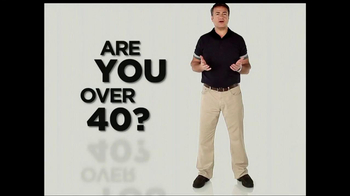Ageless Male TV Spot, \'Over 40\'