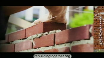 Rebuilding Together TV Spot Featuring Morgan Freeman - 104 commercial airings