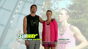 Subway TV Spot Featuring Michael and Whitney Phelps - 139 commercial airings