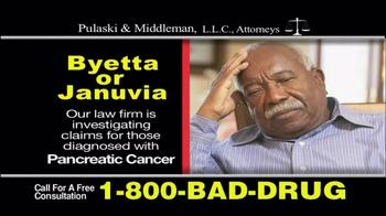 Pulaski & Middleman TV Spot, 'Byetta or Januvia' - Thumbnail 5