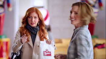Wendy's Mozzarella Chicken Supreme TV Spot, 'Holiday Play' - Thumbnail 6