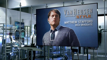 Van Heusen Institute of Style TV Spot Featuring Mathew Stafford - Thumbnail 1