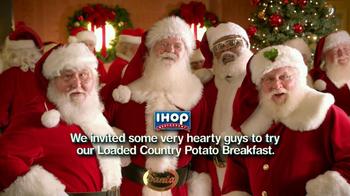 IHOP Country Potato Breakfast TV Spot, 'Santas' - Thumbnail 2