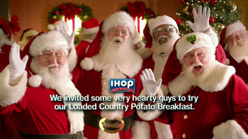 IHOP Country Potato Breakfast TV Spot, 'Santas' - 493 commercial airings