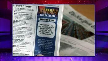 The New York Times TV Spot, 'Jeopardy' - Thumbnail 5