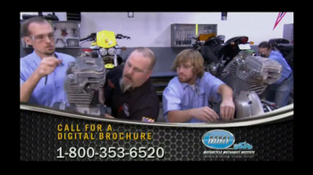 Motorcycle Mechanics Institute TV Spot, \'Love Beyond Riding\'