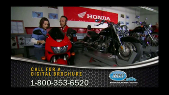 Motorcycle Mechanics Institute TV Spot, 'Love Beyond Riding' - Thumbnail 2